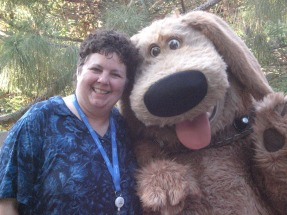 Laurie and Dug